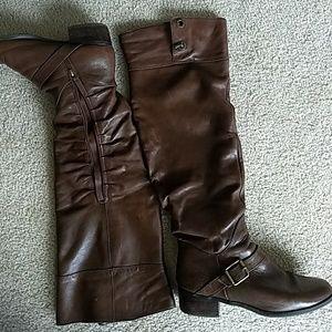 Kelsi Dagger knee high boots